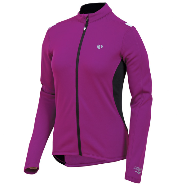 Pearl Izumi Sugar Thermal Long Sleeve Cycling Jersey Women's Size S Orchid U.S.A. & Canada