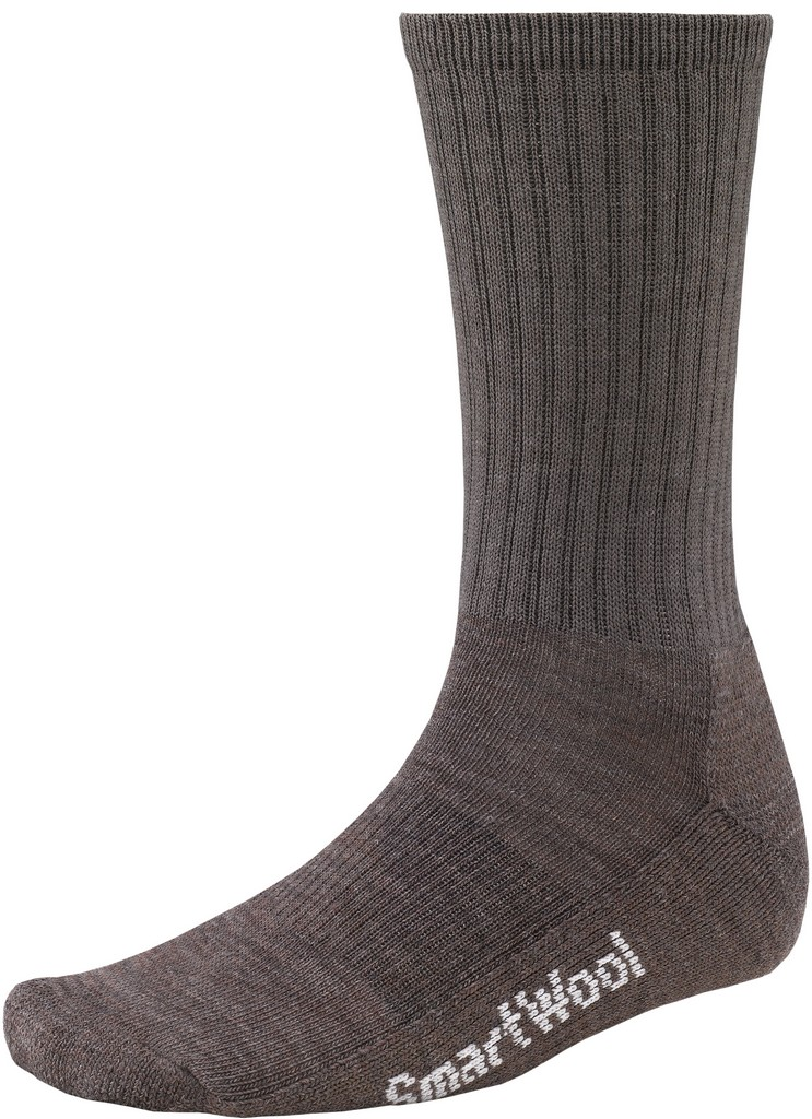 SmartWool Brilliant Light Crew Hiking Sock Size M Taupe U.S.A. & Canada
