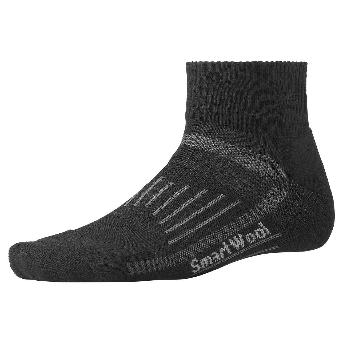 SmartWool Light Mini Walking Sock Size XL Black U.S.A. & Canada