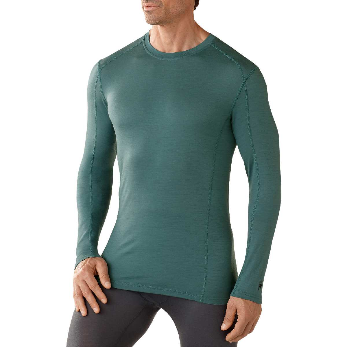 SmartWool NTS Micro 150 Crew Long Sleeve Base Layer Men's Size XXL SeaPine U.S.A. & Canada