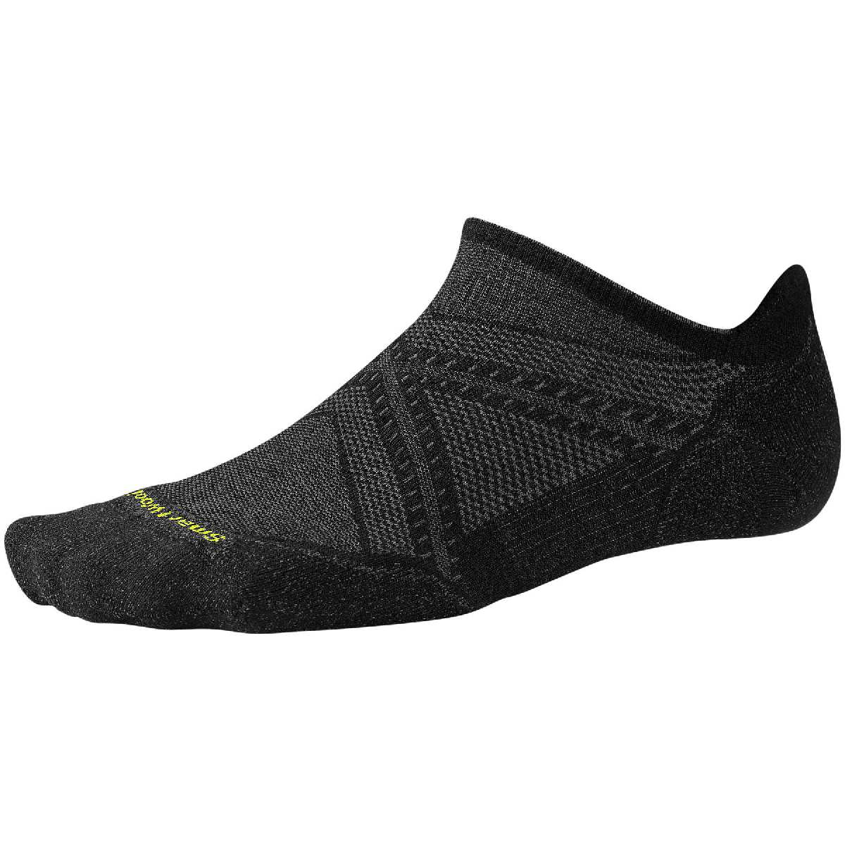 SmartWool PhD Light Elite Micro Running Sock Size L Black U.S.A. & Canada