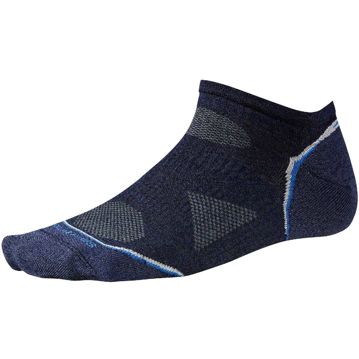 SmartWool PhD Outdoor Ultra Light Micro Hiking Sock Size M Navy U.S.A. & Canada