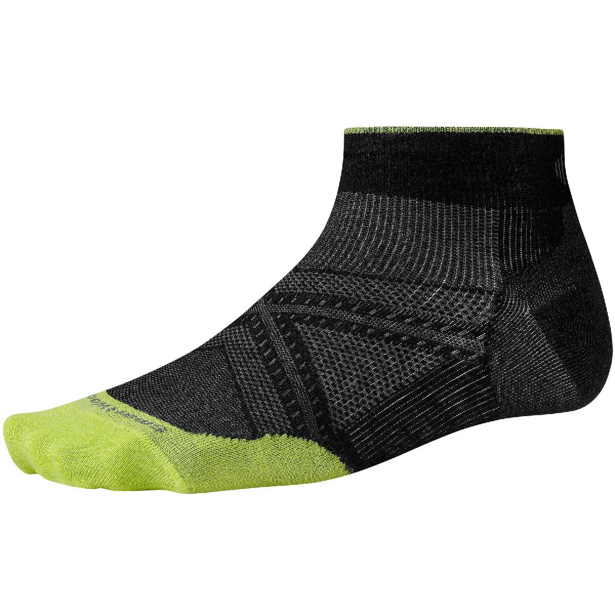 SmartWool PhD Ultra Light Low Cut Running Sock Size XL Black U.S.A. & Canada