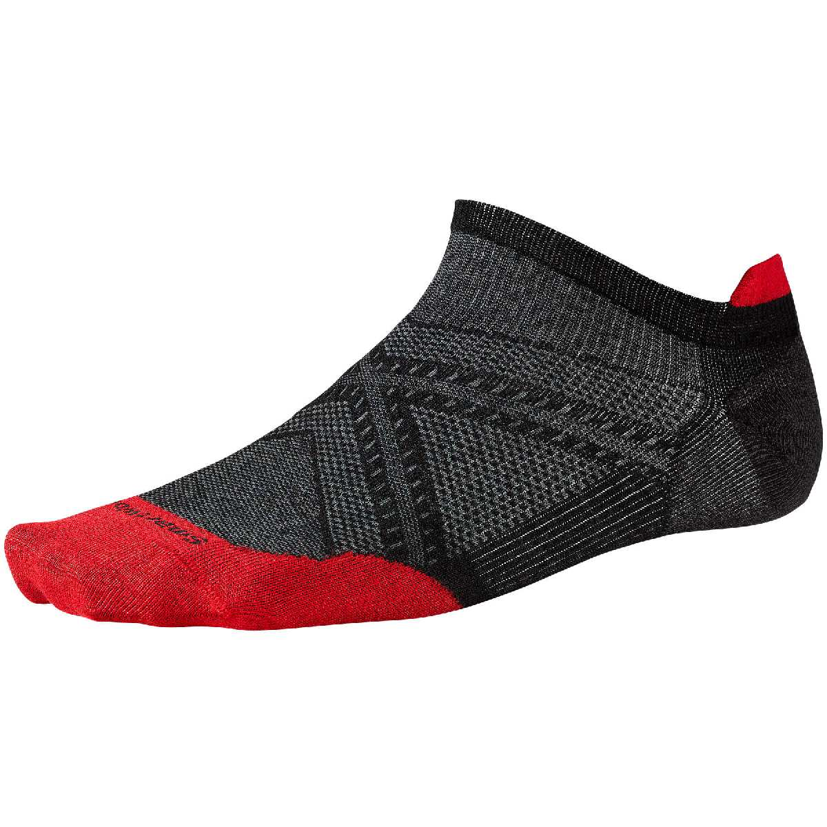 SmartWool PhD Ultra Light Micro Running Sock Size XL Black U.S.A. & Canada