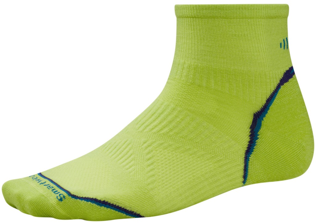 SmartWool PhD Ultra Light Mini Running Sock Size XL SmartwoolGreen U.S.A. & Canada