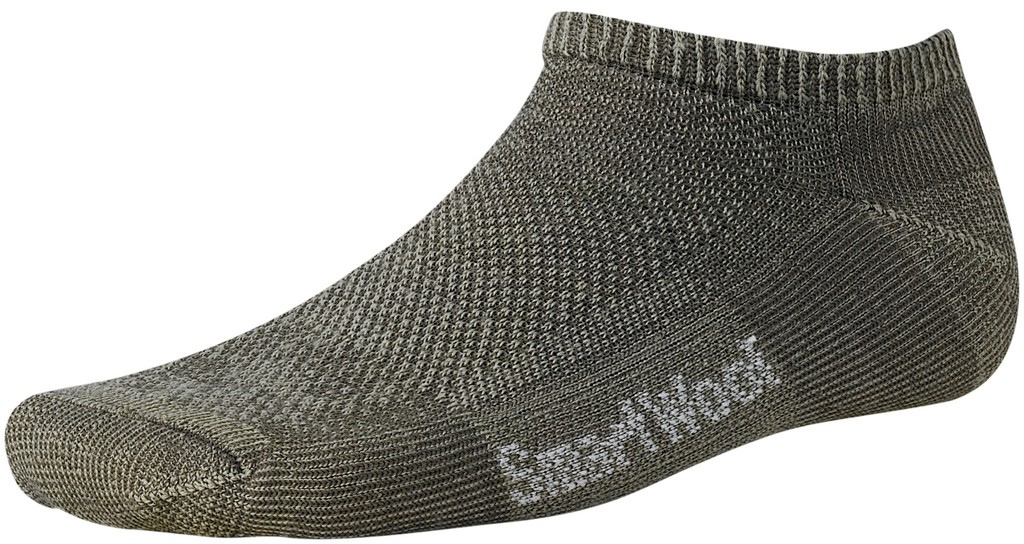 SmartWool Ultra Light Micro Hiking Sock Size M Taupe U.S.A. & Canada