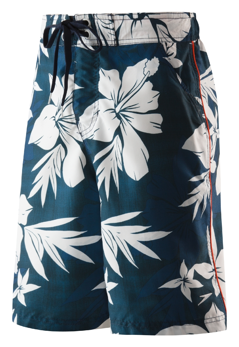 Speedo Flower Power Boardshort Men's Size S NewNavy U.S.A. & Canada
