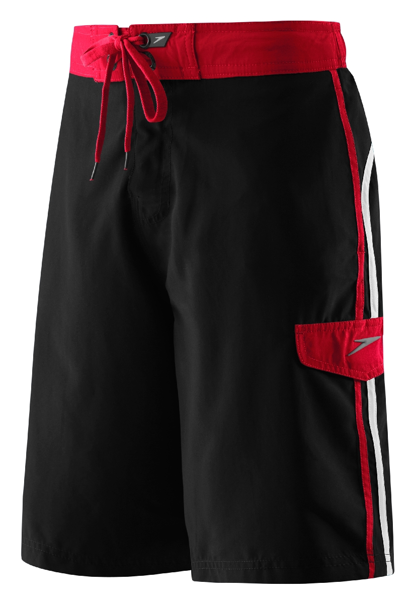 Speedo Peninsula Boardshort Men's Size L Black U.S.A. & Canada