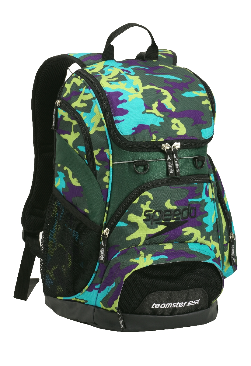 Speedo Teamster Backpack Volume 25L Camo ForestGreen U.S.A. & Canada
