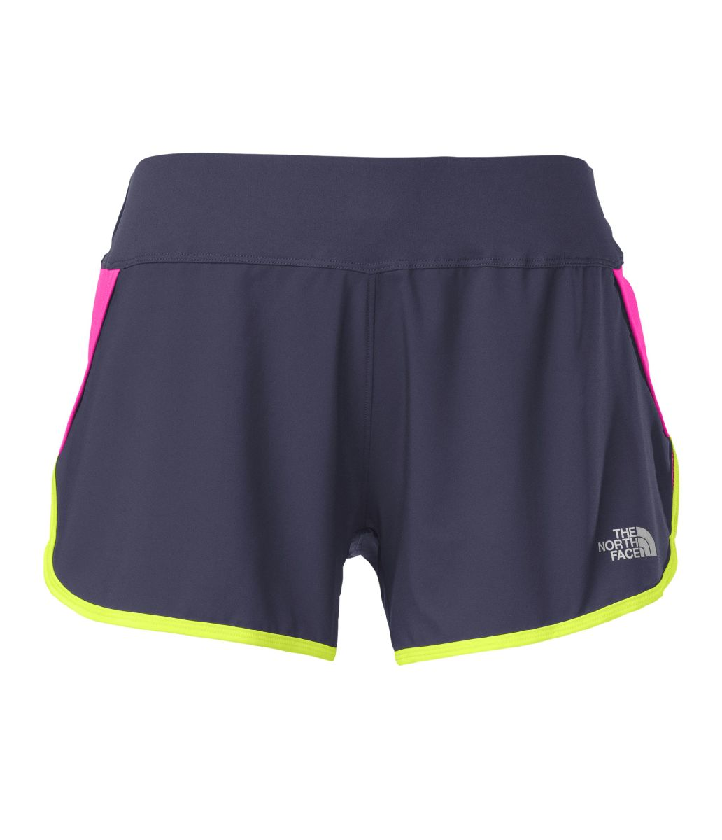 The North Face GTD Running Short Women's Size S InkSpotBlue GloPink U.S.A. & Canada