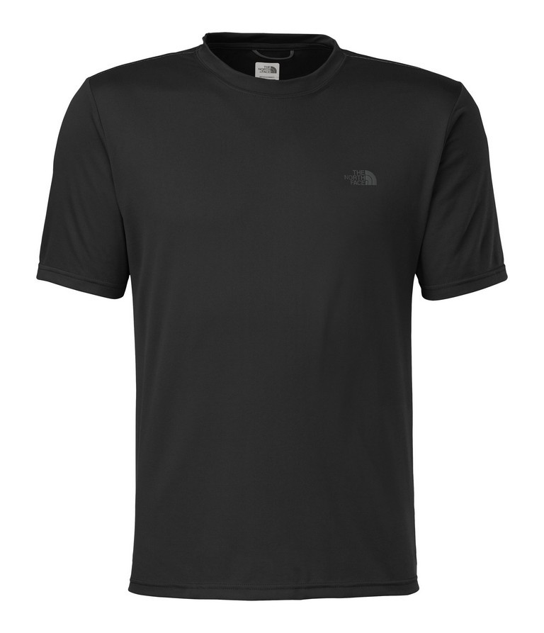 The North Face Reaxion Amp Crew Short Sleeve Workout Top Men's Size S TNFBlack U.S.A. & Canada