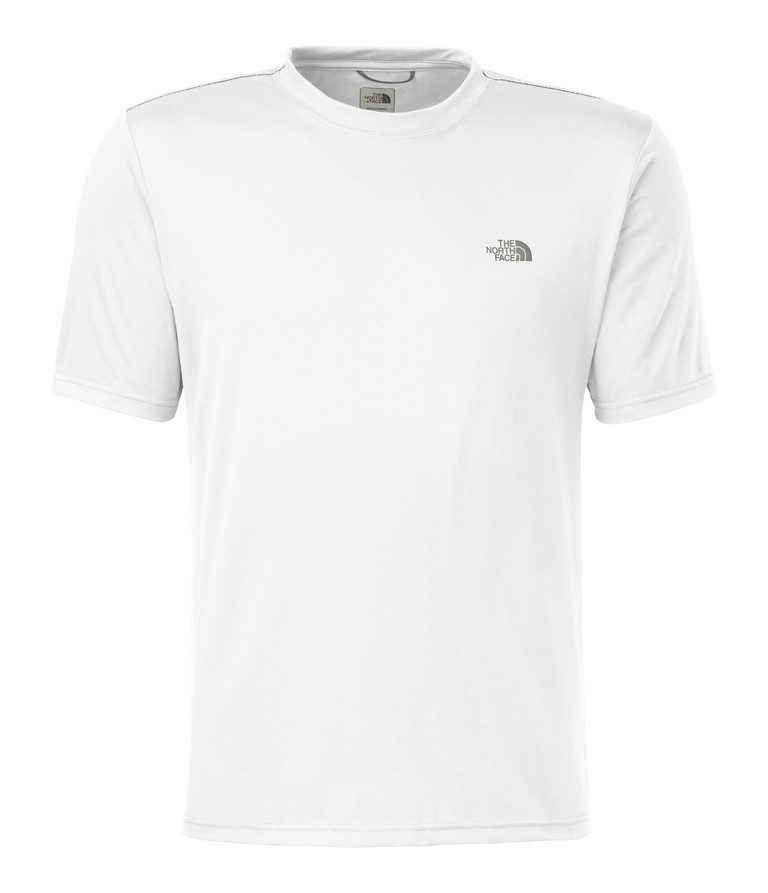 The North Face Reaxion Amp Crew Short Sleeve Workout Top Men's Size S TNFWhite U.S.A. & Canada