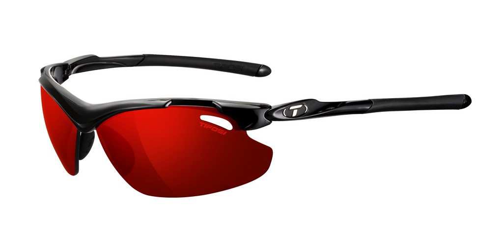 Tifosi Tyrant 2 0 Clarion Mirror Golf Tennis Specific Sunglasses Frame GlossBlack Lens ClarionRed GT EC U.S.A. & Canada