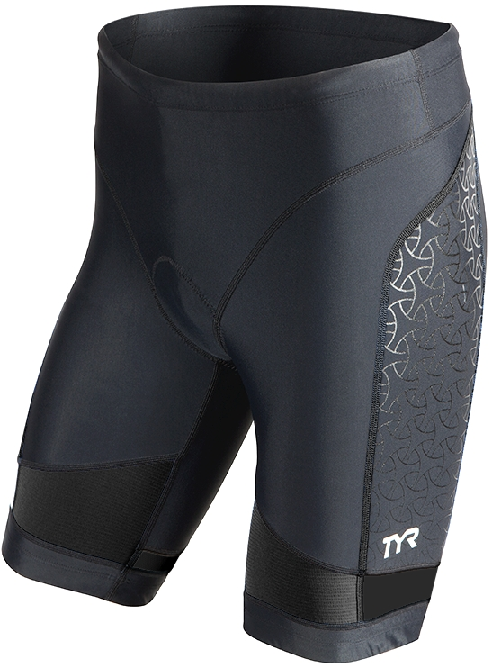 TYR Competitor 9 Triathlon Short Men's Size XS Black U.S.A. & Canada