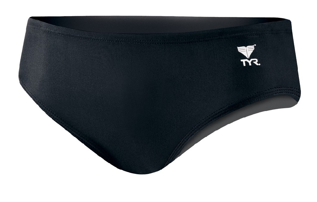 TYR Destroyer 4 Nylon Trainer Water Polo Suit Men's Size 38 Black U.S.A. & Canada