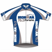 Ironman 70.3 Panama 2012 Squadra Team Gear Short Sleeve Cycling Jersey - Men's