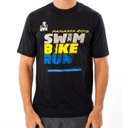 Ironman 70.3 Panama 2013 SBR Latin American Pro Championship Workout Shirt - Men's
