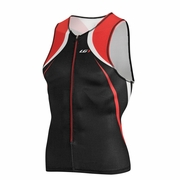 Louis Garneau Elite Course Sleeveless Triathlon Top - Men's