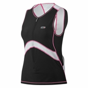 Louis Garneau Pro Sleeveless Semi-Relax Triathlon Top - Women's
