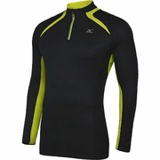 Mizuno Breath Thermo 1/2 Zip Running Shirt - Men's