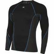 Mizuno Breath Thermo Stretch Crew Running Shirt - Men's