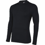 Mizuno Breath Thermo Wool Mock Turtleneck Running Shirt - Men's
