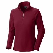 Mountain Hardwear Microchill Zip T Fleece Pullover - Women's