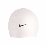 Nike Logo Latex Swim Cap