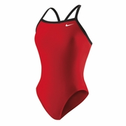 Nike Nylon Core Solid Lingerie Tank Swimsuit - Women's