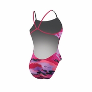 Nike Painted Camo Cut Out Tank Swimsuit - Women's