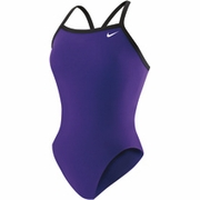 Nike Poly Core Solid Classic Lingerie Tank Swimsuit - Women's