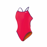 Nike Reversible Solids Cut Out Tank Swimsuit - Women's