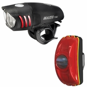 NiteRider Mako 150 Front + CherryBomb Rear Bicycle Light Set
