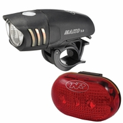 NiteRider Mako 5.0 Front + TL 5.0 Rear Bicycle Light Set