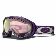 Oakley A Frame Snow Goggle - Purple Block Text Frame