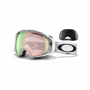 Oakley Airbrake Snow Goggle - Polished White Frame