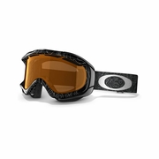 Oakley Ambush Asian Fit Snow Goggle - Silver Factory Text Frame