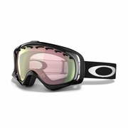 Oakley Crowbar Asian Fit Snow Goggle - Jet Black Frame