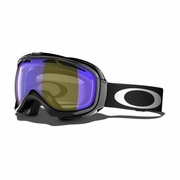 Oakley Elevate Polarized Snow Goggle - Jet Black Frame