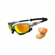 Oakley Racing Jacket Polarized Sunglasses - Men's