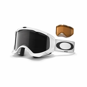 Oakley Twisted Snow Goggle - Polished White Frame
