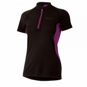 Pearl Izumi Ultra Inside-Out Zip Short Sleeve Running Top - Women's