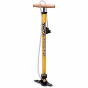 Pedro's Super Prestige Yellow Floor Pump With Gauge