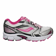 Saucony Baby Cohesion 5 LTT Running Shoe - Girl's - Extra Wide Width
