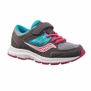 Saucony Crossfire 2 A/C Little Kid Running Shoe - Girl's - D Width
