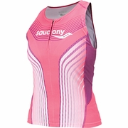 Saucony Zip Triathlon Tank - Women's
