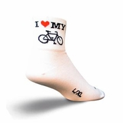 SockGuy Heart My Bike Sock