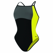Speedo Color Block Thin Strap Swimsuit - Women's
