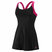 Speedo Contrast Strap Swim Dress - Women's