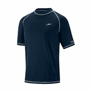Speedo Easy Short Sleeve Swim Tee Rash Guard - Men's